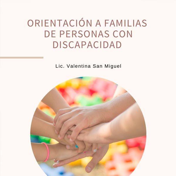 Orientación a familias de personas con discapacidad